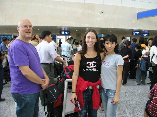 Carrie with Bai Da Wei