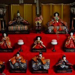 Traditional Hina Doll Display