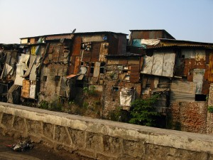 Slums of Mumbai, India