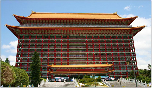 Unusual Hotel of the Month: The Grand Hotel, Taipei