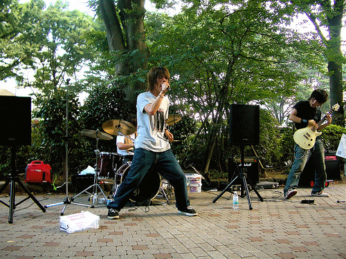 Japan Photo Journal: Yoyogi-koen on a Sunday Afternoon In Tokyo