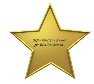 MSW Golden Star Award