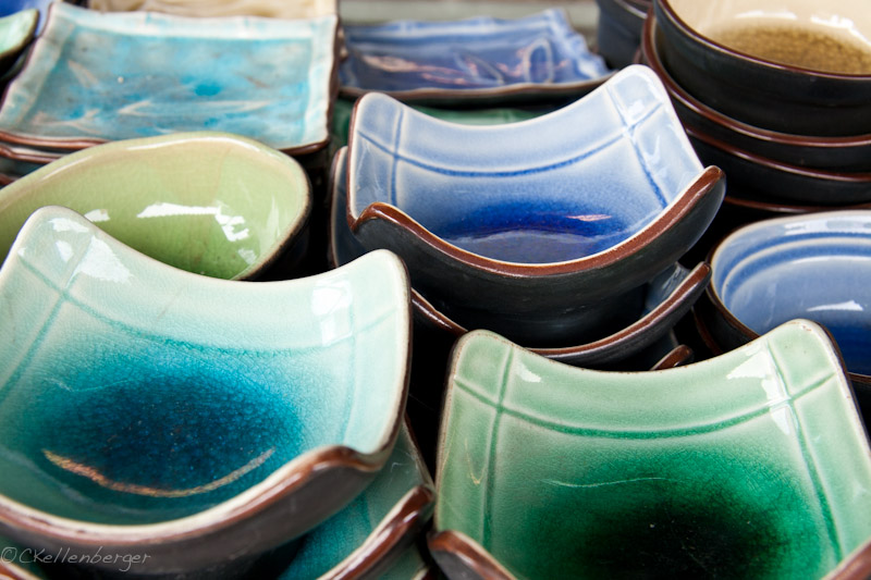Pottery in Yingge, Taiwan