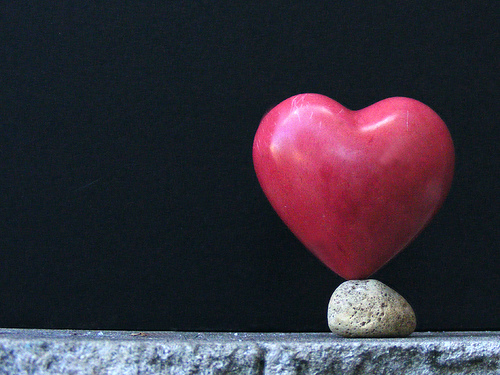 Stone heart by James Jordan
