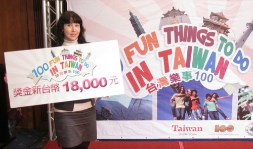 Carrie and 100 Fun Things To Do In Taiwan
