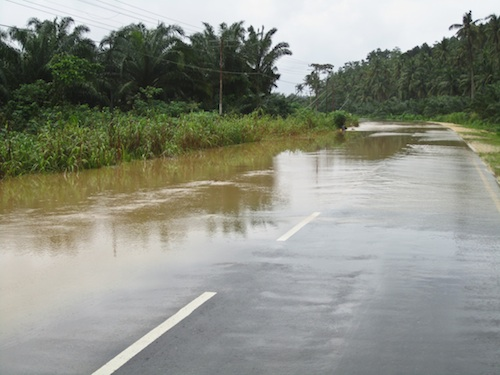 Rainy Season in Borneo, Flash Floods, and Why You Should Always Drive A Pickup