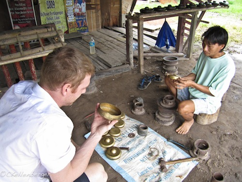 Kapung Sumangkap Gong Village in Kota Kinabalu, Borneo