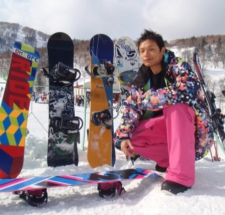 Stack of Snowboards, Terry Chung