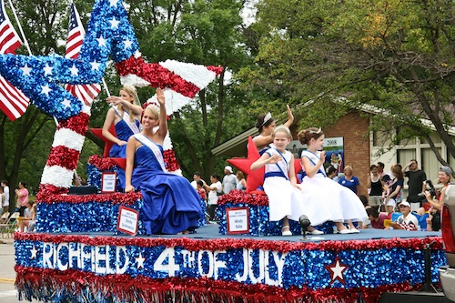 Celebrating the Fourth of July in Richfield, Minnesota