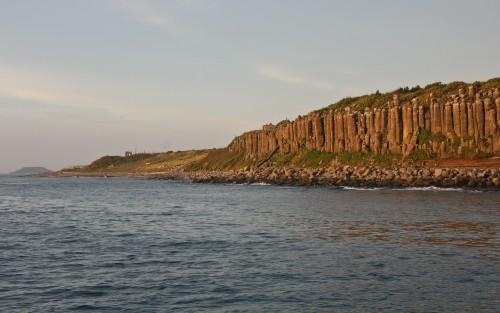 Penghu's Basalt Rock Formations