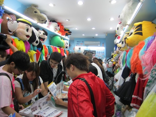 Shopping for a Halloween Costume in Taipei