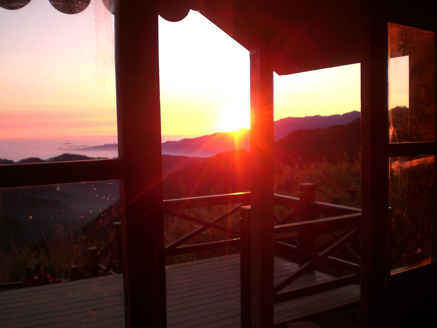 Sunrise from 369 Cabin