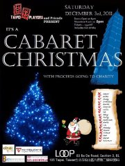 Taipei Players Present a Cabaret Christmas