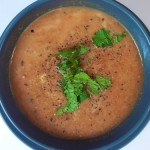 Wanderfood Wednesday: Moroccan Red Lentil and Chickpea Soup