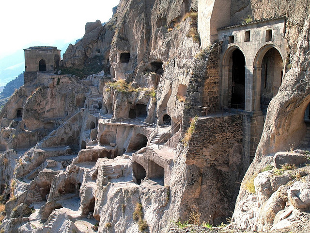 Travel Georgia: Vardzia Cave City