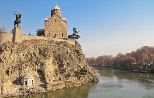 Marketi Church, Old Tbilisi, Georgia