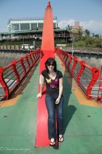 Carrie Kellenberger in Hualien City