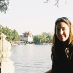 Carrie at the Summer Palace, Beijing