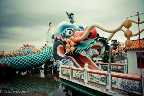 Dragon Pagoda at Lotus Pond, Southern Kaohsiung