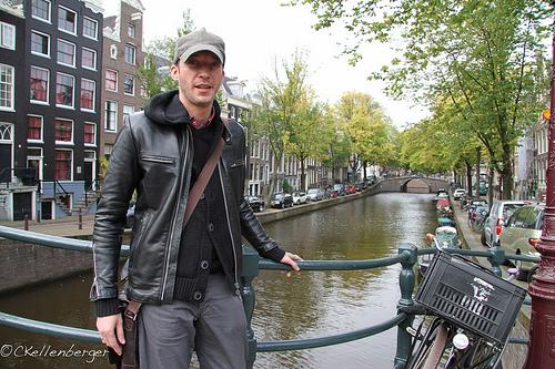 Drew in Amsterdam