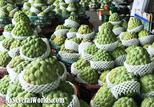 Custard Apple Season in Taiwan
