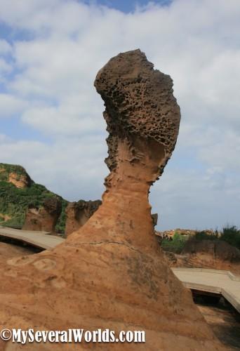 Queen's Head Rock, Yehliu