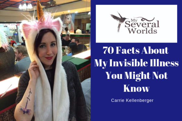 Carrie Kellenberger - Ankylosing Spondylitis - Invisible Illness - 70 Facts To Know