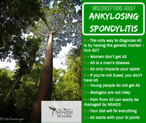 Things that people get wrong about Ankylosing Spondylitis