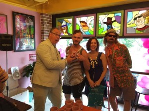 Kenneth Cat Daddy Pogson and Tres Shannon of Voodoo Doughnuts