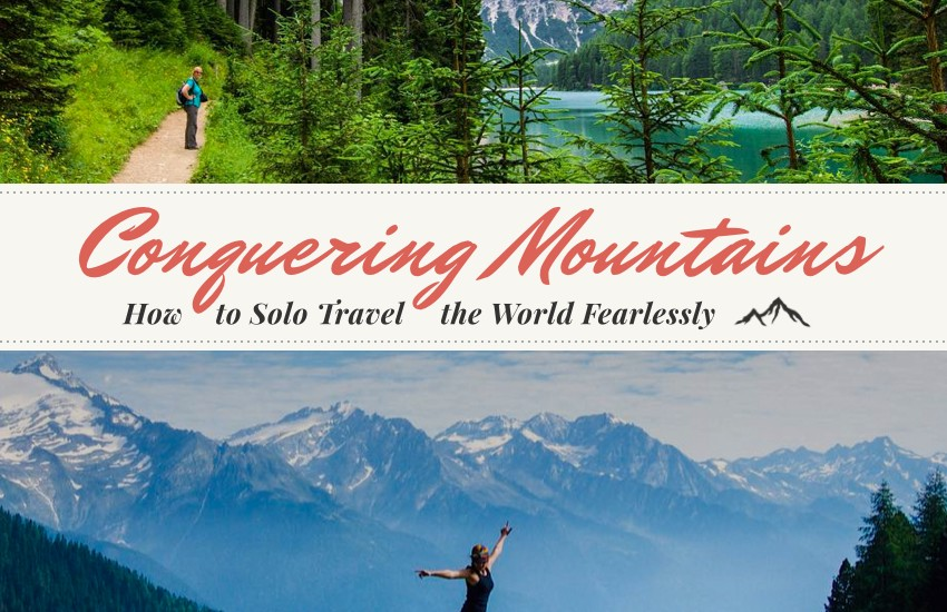 Book Review: Conquering Mountains: How To Solo Travel the World Fearlessly