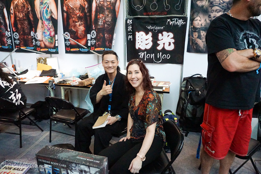 Tattoo artists in Taiwan