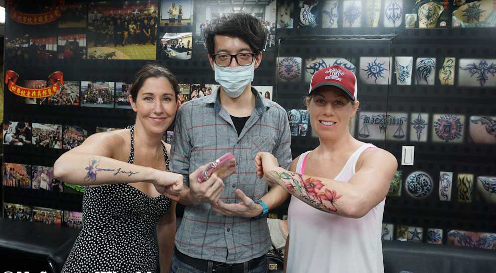 Getting Inked in Taipei: Kevin Tattoo