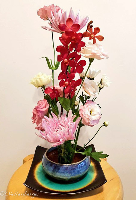 Girly Pop Floral Arrangement by Carrie Kellenberger