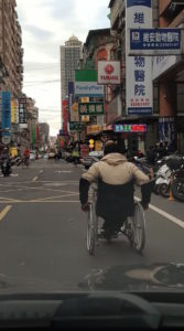 Wheelchair Users Cannot Use Sidewalks in Taipei