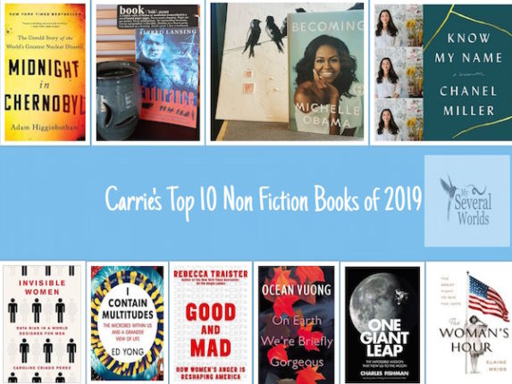Non Fiction Book List for 2019