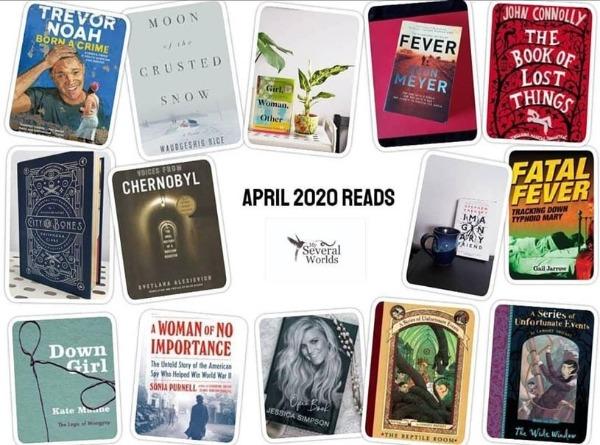 Carrie Kellenberger April 2020 Books