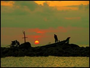 Sunset at Haad Rin Nai