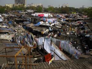 Dhobi Ghat Slum in Mumbai