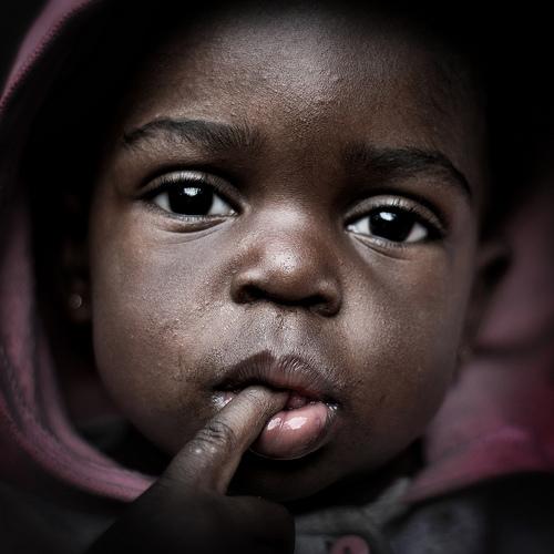 Infant in Brazilian Slum