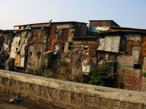 Slums of Mumbai, India