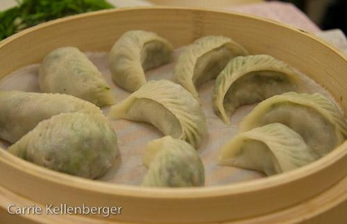 Dumplings at Din Tai Fung