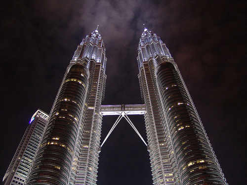 Petronas Towers by Supercilliousness on Flickr