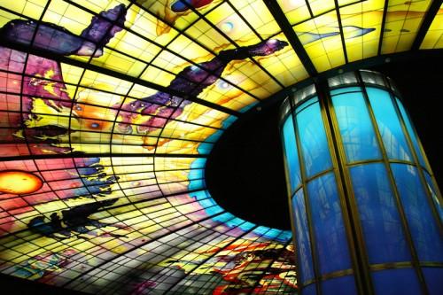 Dome of Light, Koahsiung MRT