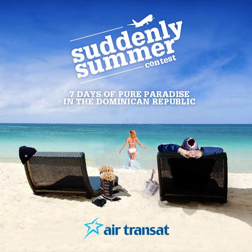 Air Transat - Suddenly Summer Giveaway