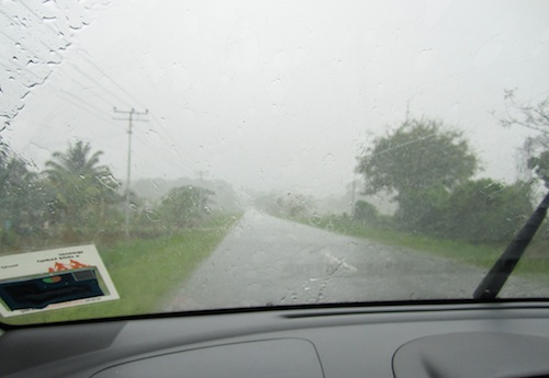 Rainy Season in Kota Kinabalu