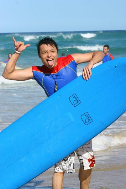 Gold Coast Surfing with Terry Chung