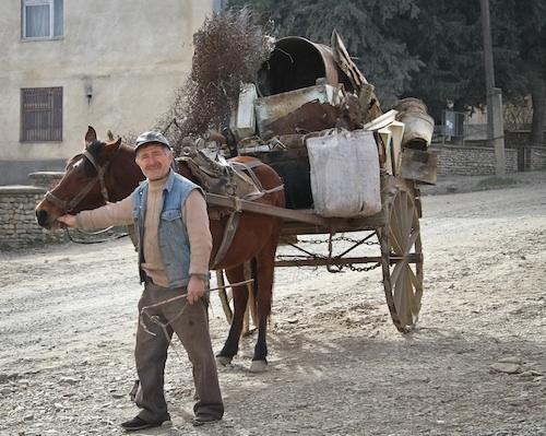 Farmer in Kakheti, Georgia