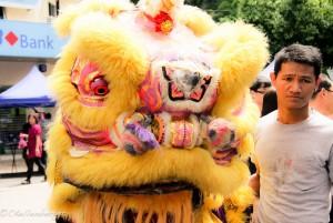 Kota Kinabalu Chinese New Year Dragon Dance