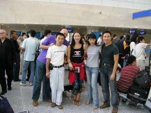 Carrie Kellenberger - teaching in China
