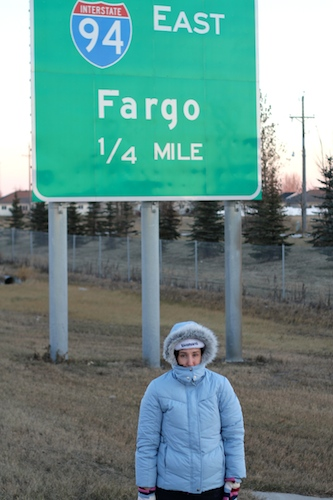 Carrie in Fargo - Image Source